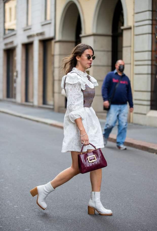 Очень свежо и красочно: элегантные короткие платья для весны 2021