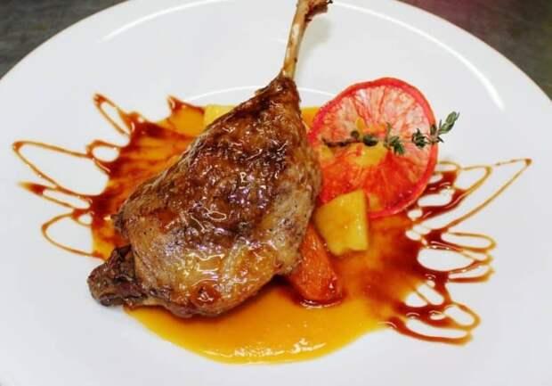 Конфи из курицы. Интересный и простой салат 2