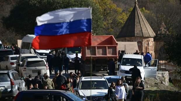 Победа России в Нагорном Карабахе не дает покоя НАТО