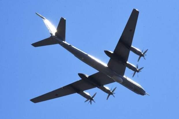 Самолёты Ту-142 выполнили плановый полёт над Тихим океаном