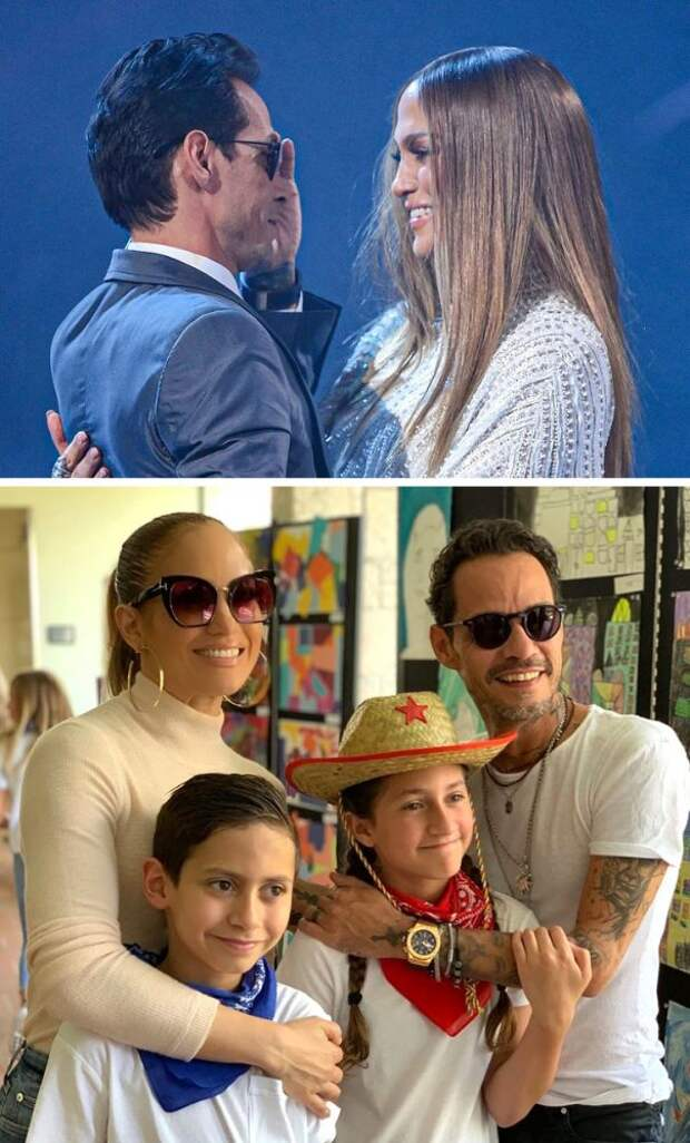 5 звездных пар, которые дружат после развода