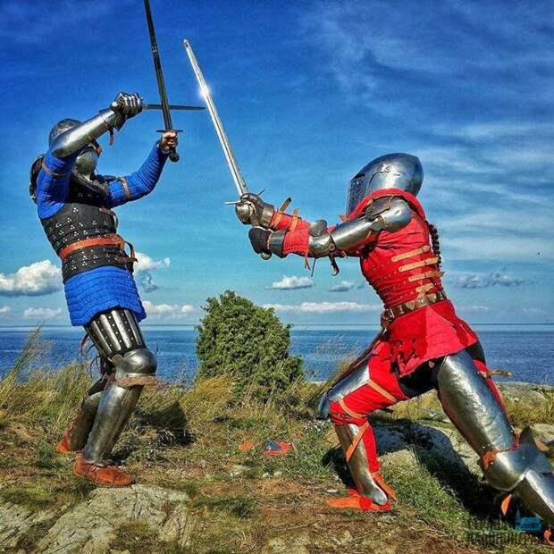Рыцарский турнир, лагерь воинов, лучный тир: в Твери проводится фестиваль «Княжество Тверское»