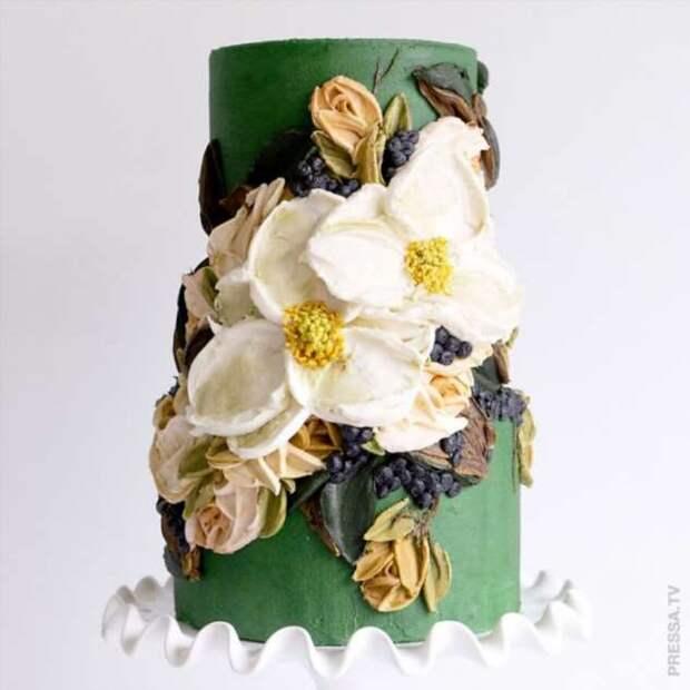 Великолепные торты с масляным кремом