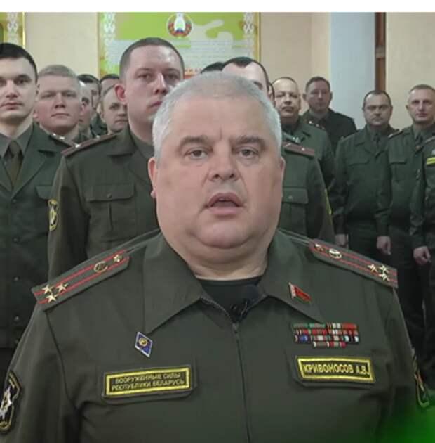 Полковник белорусской армии зарядился после рукопожатия с Лукашенко