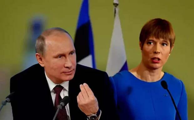 """Кремль поставил """"жирную точку над i"""" в отношениях с Эстонией - более никаких встреч, двуличие Таллина не забыто"""