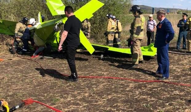 Татарстанская прокуратура раскрыла подробности падения самолета