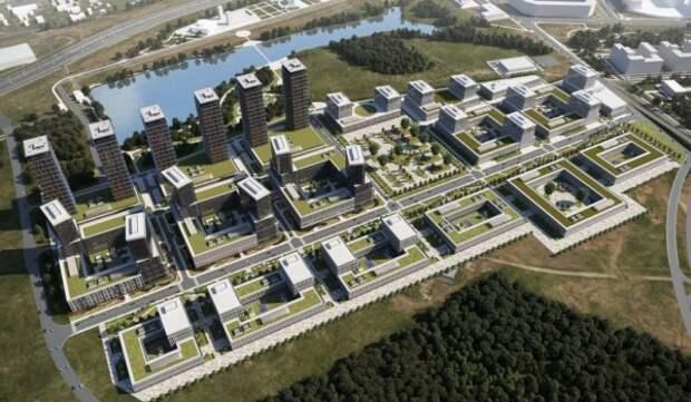 В Москве с начала года утверждено более 60 проектов межевания жилых кварталов