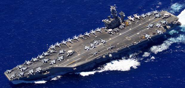 Авианосец Nimitz остался в Персидском заливе по приказу главы Пентагона