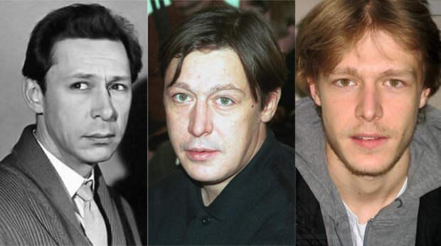 Олег, Михаил и Никита Ефремовы