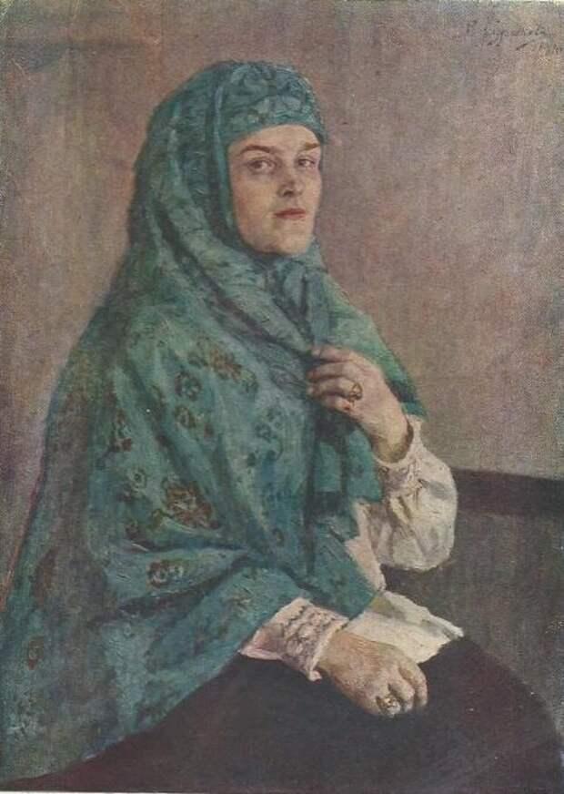 Портрет Щербатовой П. И.  Суриков. В.И.