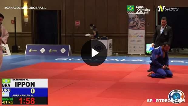Melhores Momentos lutas classificatórias e semifinais - Pan-Americano de Judô Dia 2 (16/04/2021)
