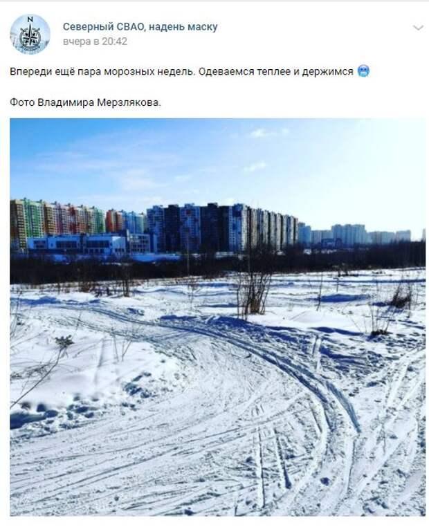 Фотограф с «морозной» фамилией запечатлел мороз в Северном