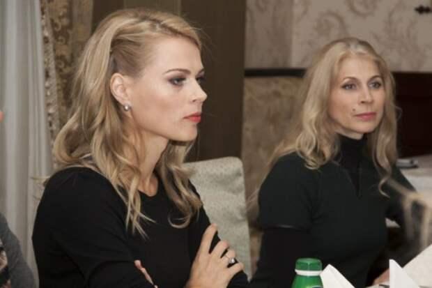 Ольга Фреймут с мамой