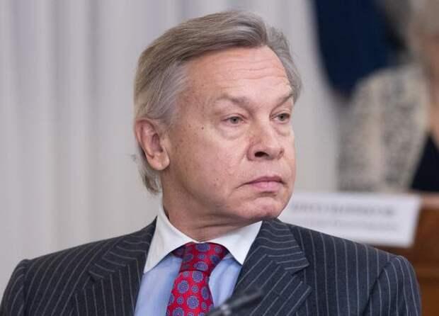 Пушков оценил обращение Зеленского к Путину