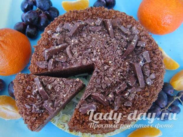 блинный торт рецепт со сметанным кремом