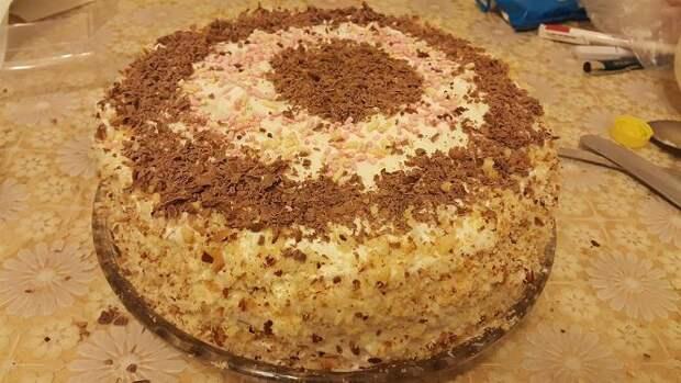 Торт «Milchmdchen»  «Молочная девочка»