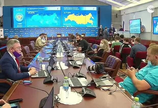 ЦИК принял постановление об утверждении результатов общероссийского голосования