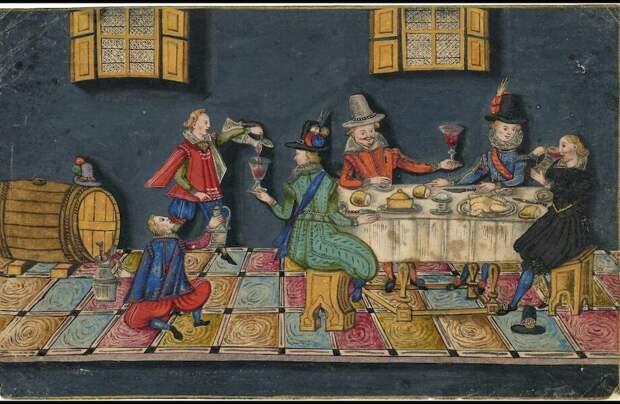 Кулинарное искусство во времена Тюдоров