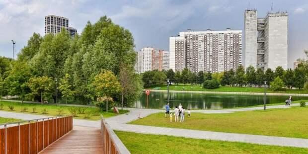 Собянин: Программа благоустройства городских пространств в Москве продолжится Фото: Ю. Иванко mos.ru