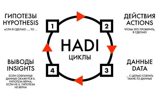 Hadi-циклы. Примеры гипотез