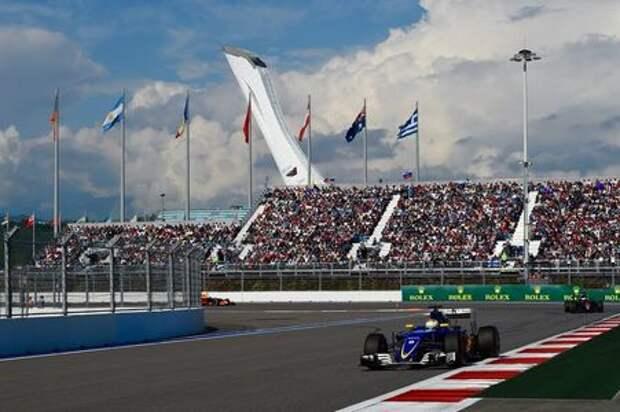 Формула 1 останется в России до 2025 года