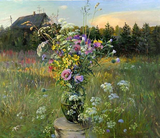Полевые цветы............... -К Дню победы-