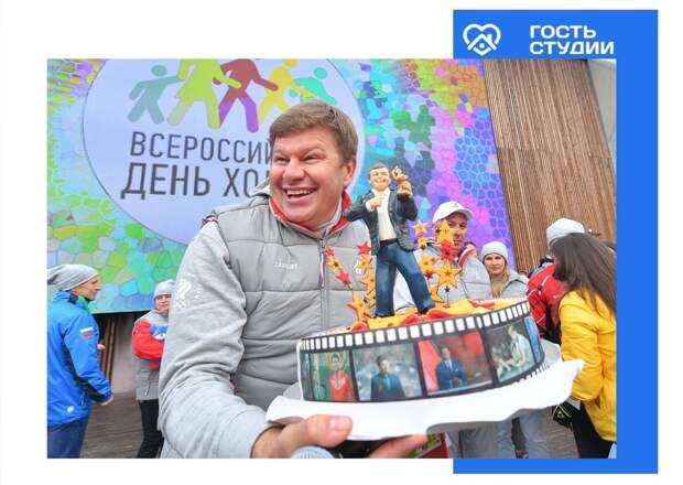 В Удмуртии пройдет телемост с Дмитрием Губерниевым