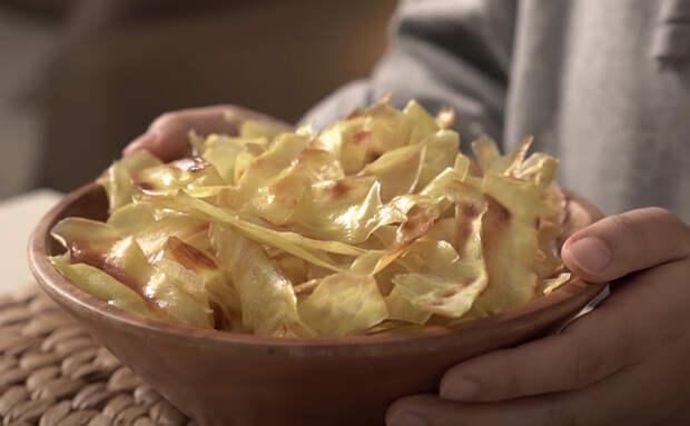 Берем одну картофелину и превращаем ее в миску домашних чипсов