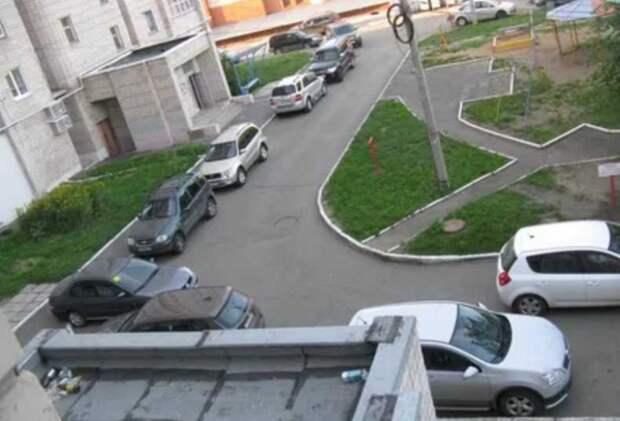 Правила о въезде и выезде в жилых дворах, которые должен знать каждый водитель