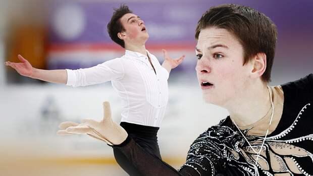 Юниор Артем Ковалев из «Ангелов Плющенко» обыграл всех взрослых на Кубке России. Игнатов сделал квад-риттбергер