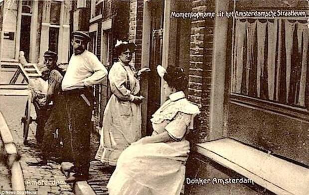 Самая древняя профессия в самом свободном городе: история квартала красных фонарей в Амстердаме