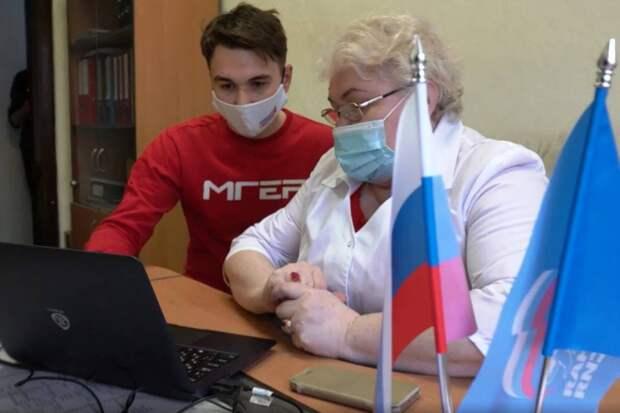Фабрика «Краскон» создала точки для регистрации избирателей на сайте предварительного голосования