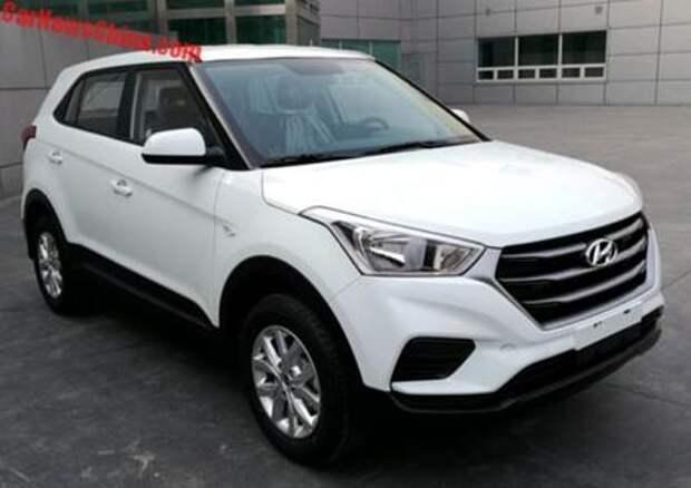 Hyundai Creta: первое китайское обновление