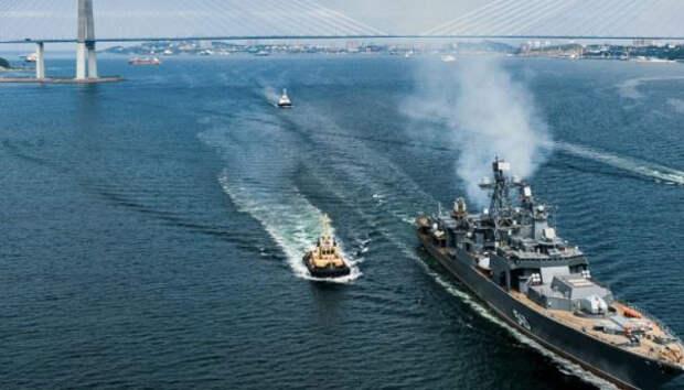 Боевой центр фрегата «Маршал Шапошников» ТОФ РФ восхитил западных обозревателей