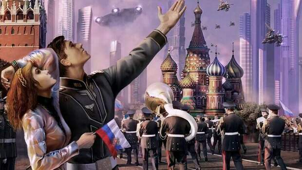 А кто не хотел бы такой России? Кто скажет - откуда это изображение?
