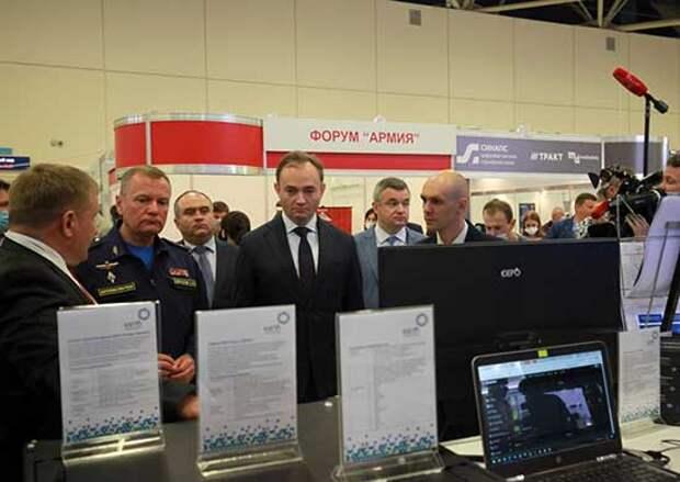 Специалисты Минобороны России оценили инновационным разработки, представленные на «Российской неделе высоких технологий – 2021»