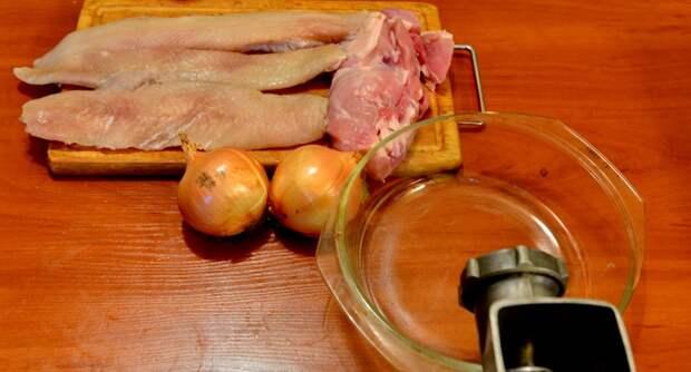 Пельмени со щукой, исторически правильная еда