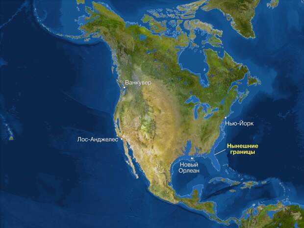 Как будет выглядеть Земля, если все ледники растают