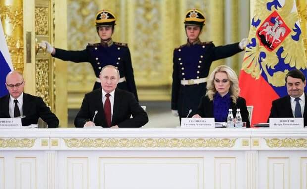 В списке преемников Путина — пять фамилий