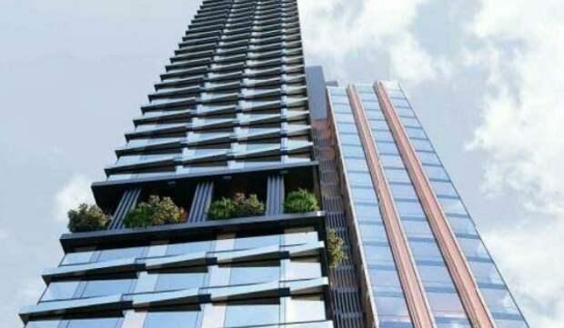 На Большой Черемушкинской улице появится высотный жилой комплекс с террасами