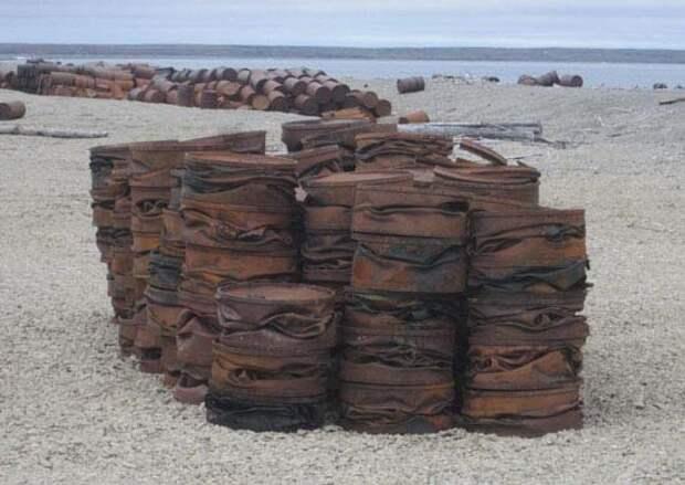 Экологический взвод Тихоокеанского флота собрал свыше 450 тонн мусора в Арктике