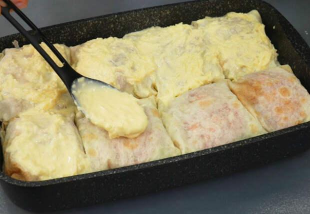 Завернули рыбу в лаваш и ставим в духовку: ужин как ресторане готов за полчаса