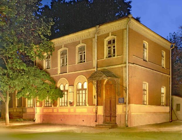 Дом, в котором Е.П.Блаватская родилась и  провела первые годы своей жизни (1831 – 1834) В наше время: Музейный центр Е.П.Блаватской  и ее семьи (Украина, Днепропетровск)