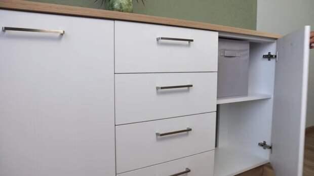 Своя мебель — лучше покупной. Вместительный комод из ламината и ЛДСП