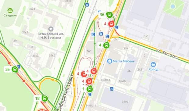 ВКазани из-за столкновения трамваев ограничат движение одного измаршрутов