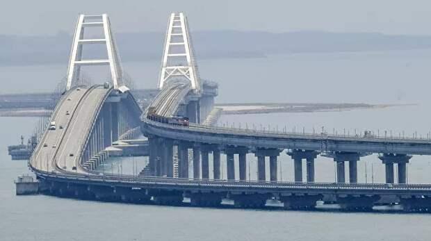 Повод для дежурной злобы. Крымский мост опять стал костью в горле у США