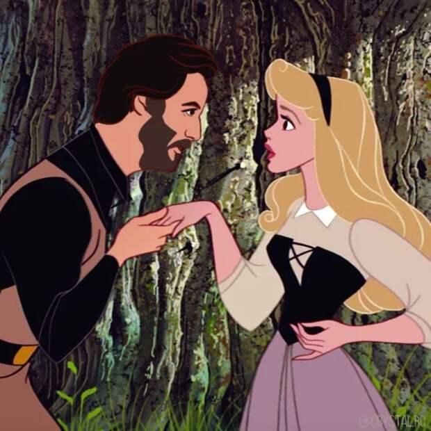 Как бы выглядел Киану Ривз, если бы стал диснеевским принцем? 9 фото