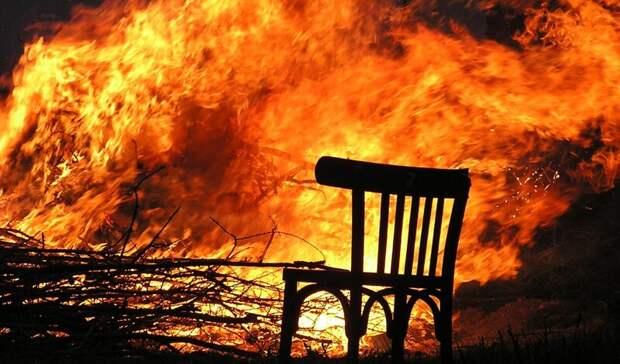 Волгоградцев предупредили о повышенном риске пожаров на выходных
