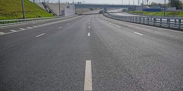 Собянин объявил об открытии двух новых дорог в ТиНАО