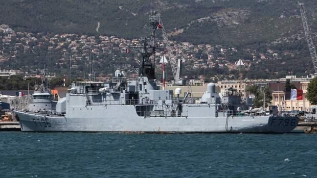 Силы Черноморского флота следят за действиями корабля ВМС Франции в акватории Черного моря
